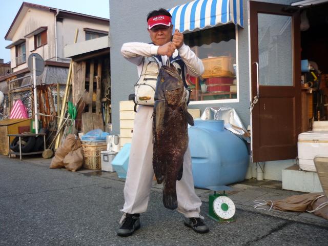神子元島 夜釣り カリト 亀田様